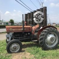 加藤牧場操業の年から働いていたトラクター